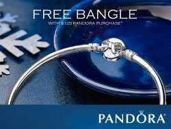 Pandora Free Bangle Promotion at Diva Divine Boutique