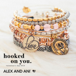 Alex and Ani Valentine's Day 2016 Hooked on You Scottsdale, AZ